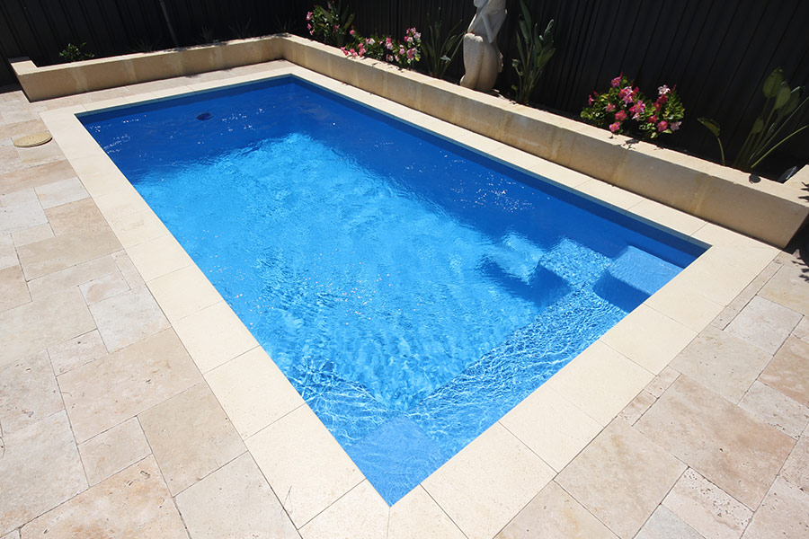 serenity fibreglass swimming pool 4m x gary west pools. Black Bedroom Furniture Sets. Home Design Ideas