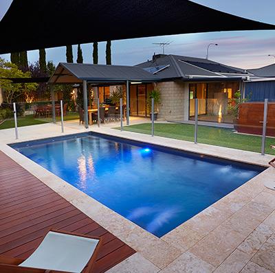 Fibreglass swimming pools albury wodonga gary west pools - Samengestelde pool weergaven ...