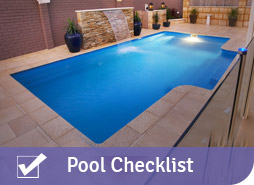 Pool Buyers Checklist