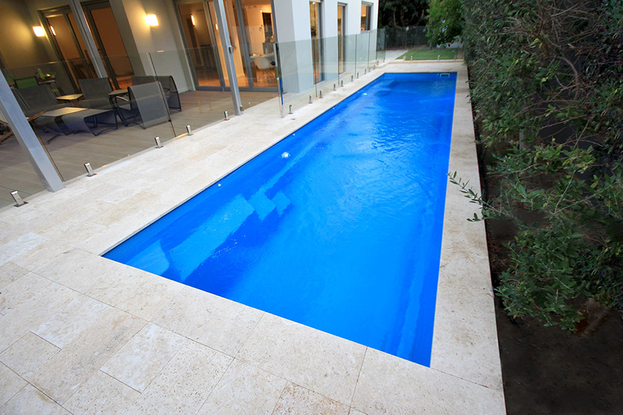 Narrow Swimming Pool. Swimming Pool Design Cozy Narrow Pools In The ...